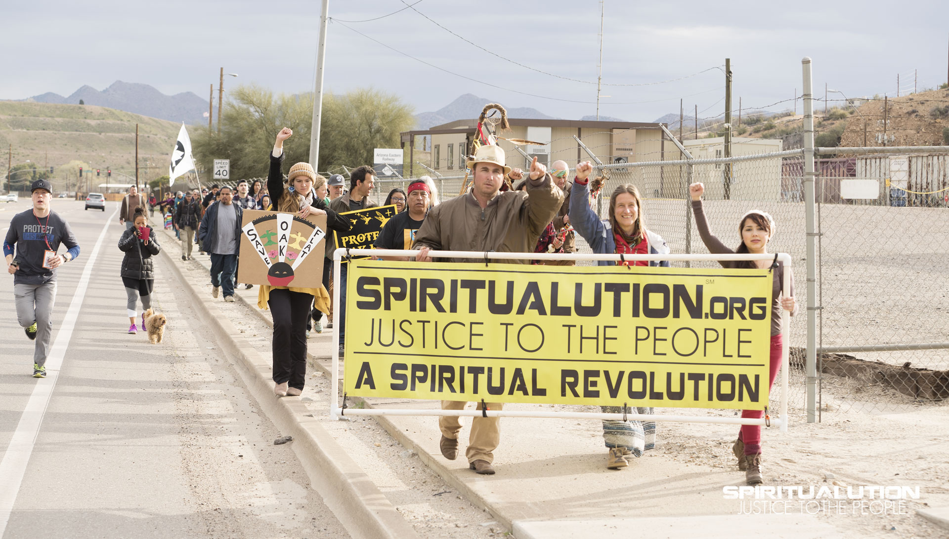 Spiritualution Campaign: indigenous-rights